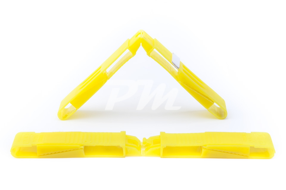 ADJUSTABLE GLAZING BRIDGE 18 MM